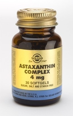 Solgar Astaxanthin Complex 4mg 30 Softgels Capsules