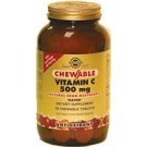 Solgar Chewable Vitamin C 500mg Cranberry-Raspberry Flavour 90 Tablets